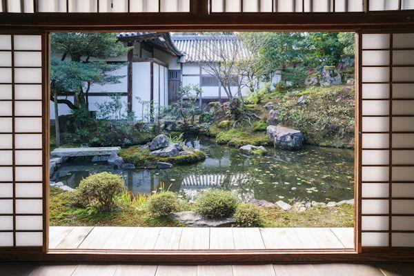 浄住寺 庭園