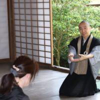 浄住寺 座禅体験