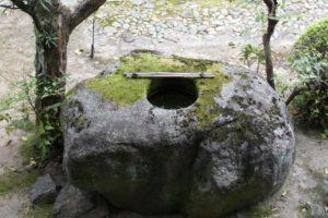 海宝寺 豊臣秀吉遺愛の手洗石