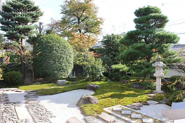 宝善院のお庭 「廣化庭」